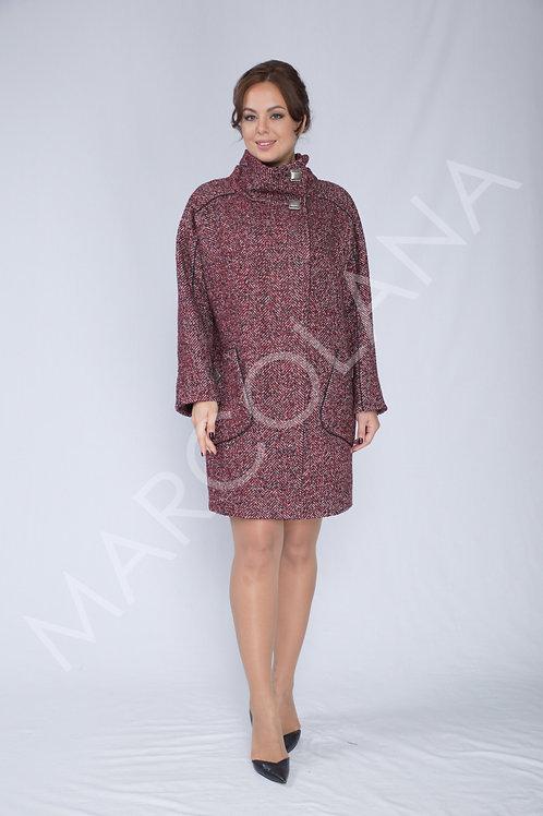 Пальто А-201/1 (ткань - елка арт.401)»