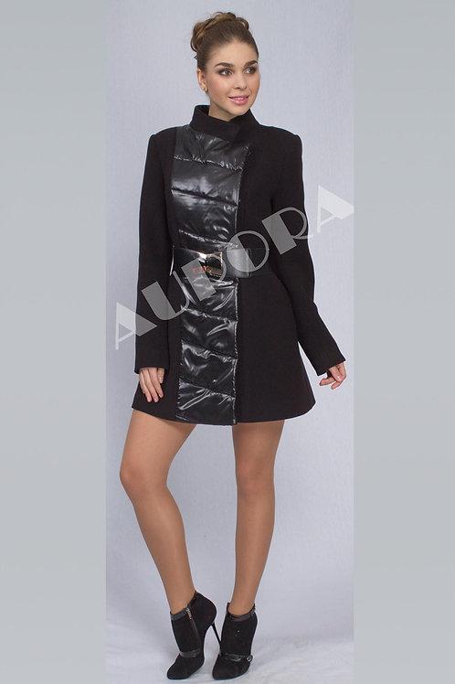 Пальто А-269 (ткань велюр+плащевка)