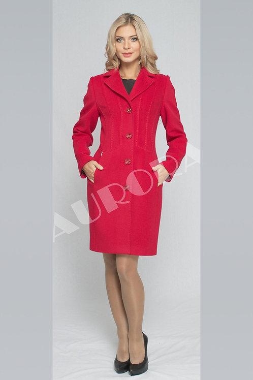 Пальто А-233  (ткань велюр)