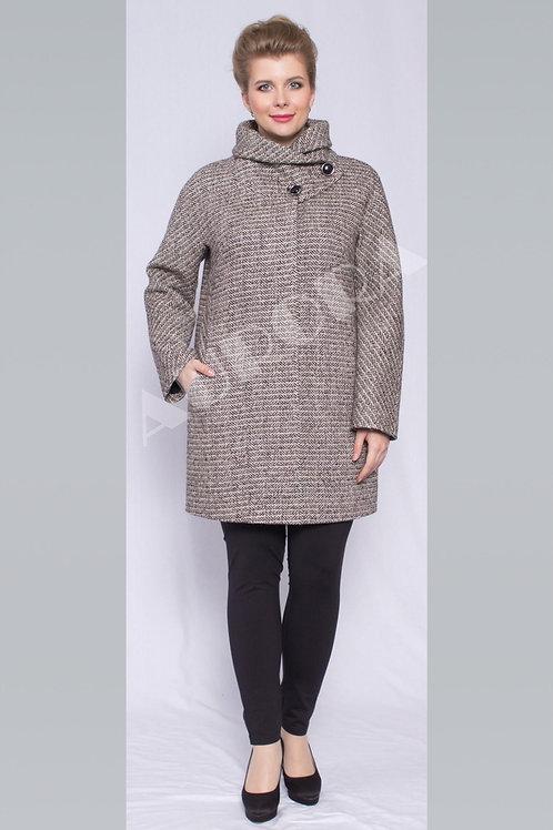 Пальто А-283/1 (ткань твид «елка»)