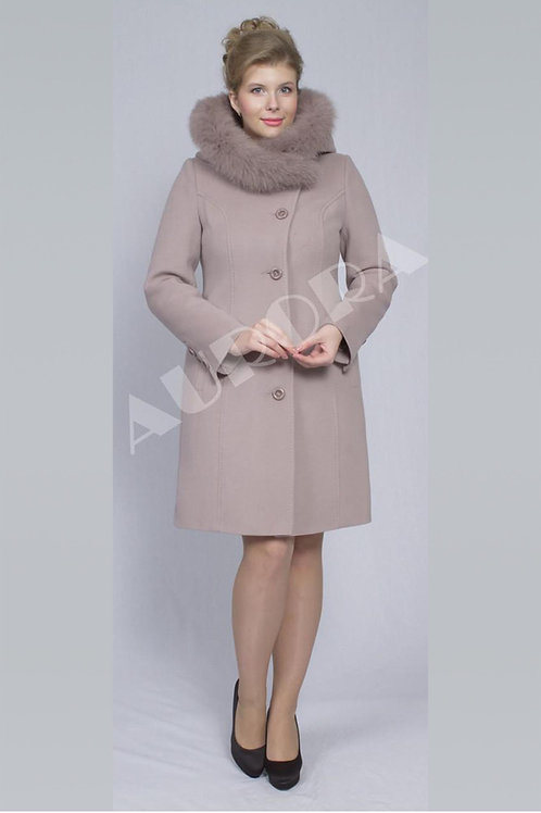 Пальто А-48Z (ткань - велюр)