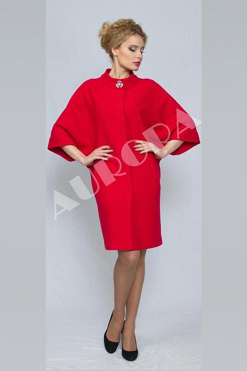 Пальто А-248 (ткань - вареная шерсть)
