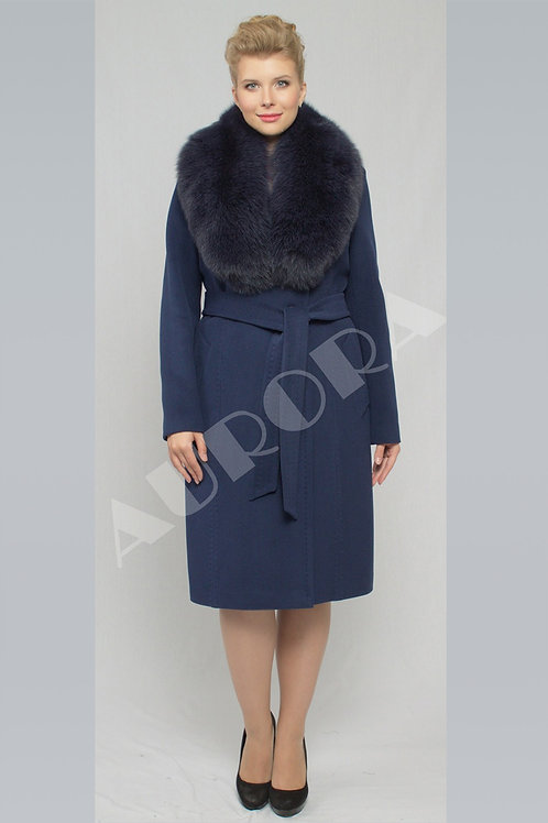 Пальто А-155Z (ткань велюр)
