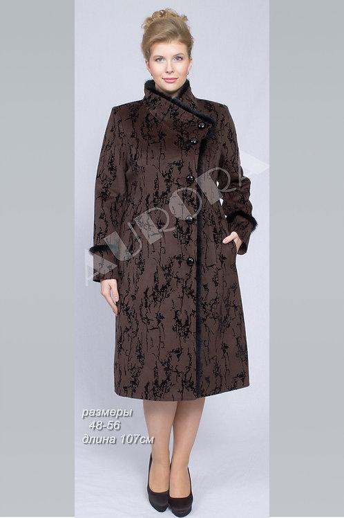 Пальто А-110Z (ткань флок)