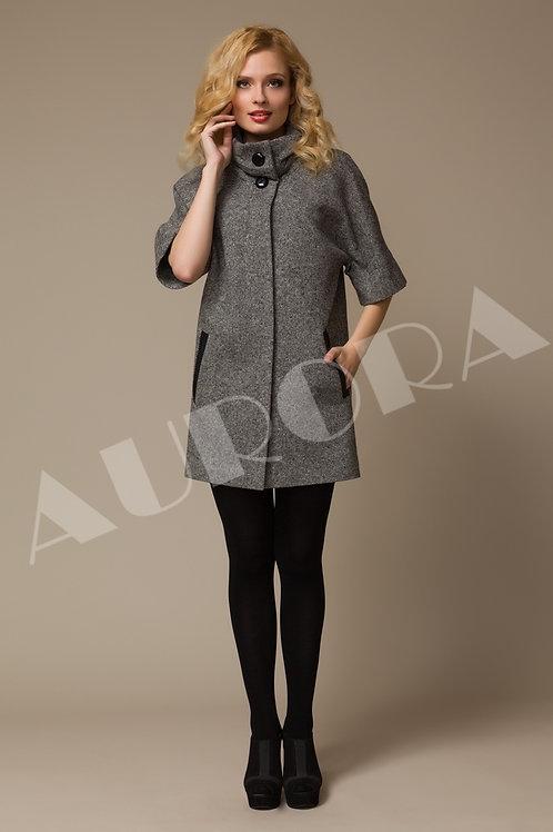 Пальто А-127 (ткань твид)