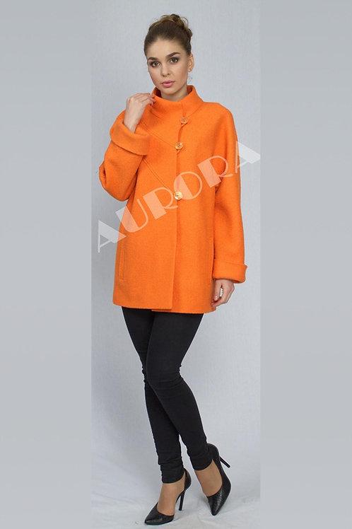 Пальто А-206 (ткань - вареная шерсть)