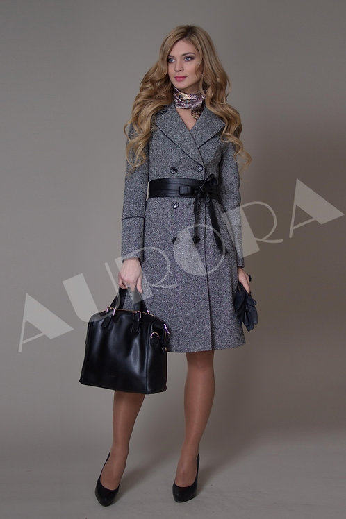 Пальто А-126 (ткань твид)