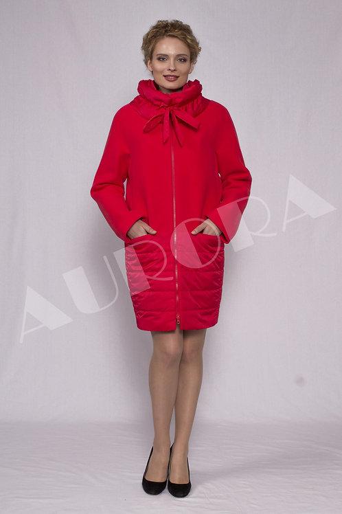 Пальто А-275 (ткань велюр, утепленное )