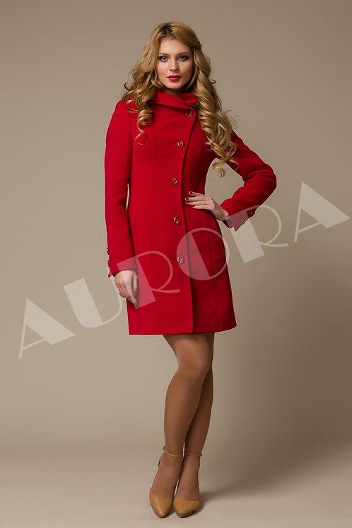 Пальто А-48 (ткань - велюр, велюр «прима»)