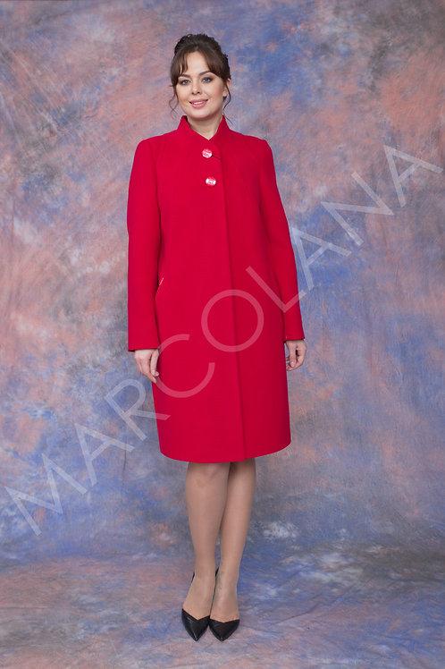 Пальто А-243  (ткань велюр)