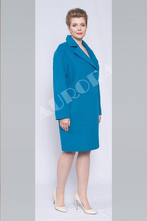 Пальто А-291 (ткань микроворс)
