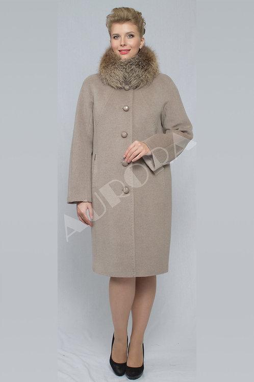 Пальто А-145Z (ткань микроворс «рубчик»)