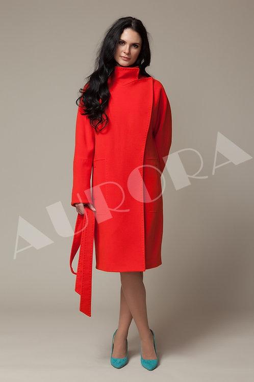 Пальто А-166 (ткань велюр, микроворс )