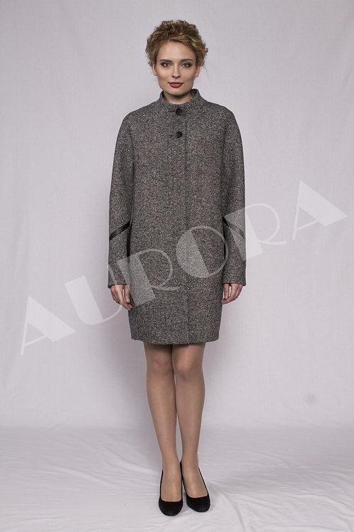 Пальто А-284 (ткань твид)
