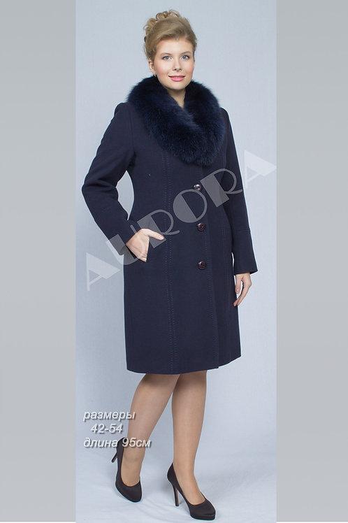 Пальто А-84Z (ткань велюр)