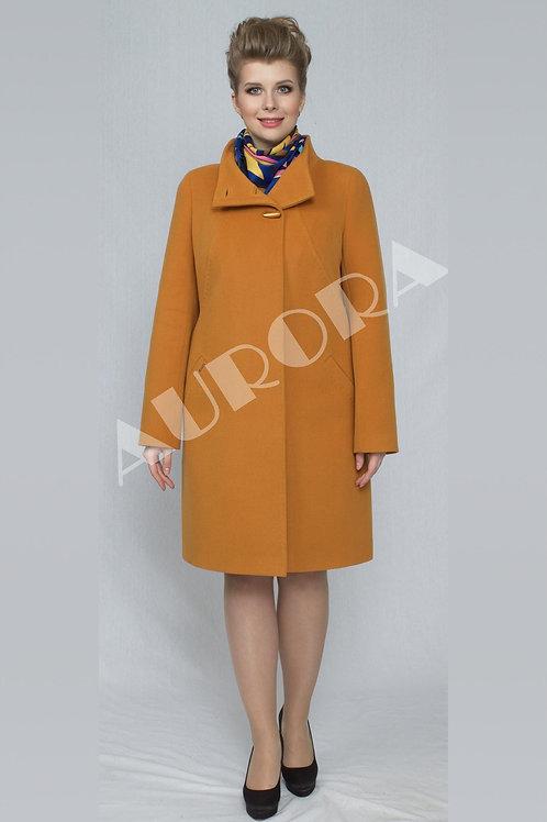 Пальто А-263  (ткань микроворс «рубчик»)