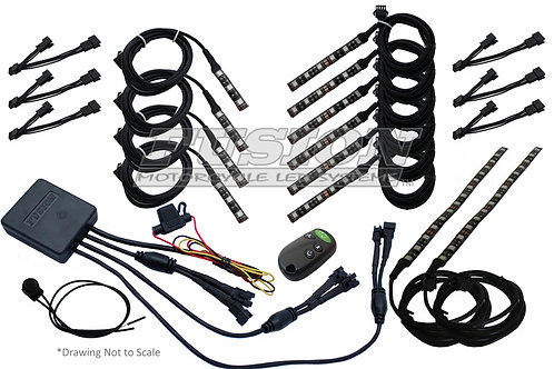 FUSION LED - STAGE 3 LIGHT KIT (most applications)
