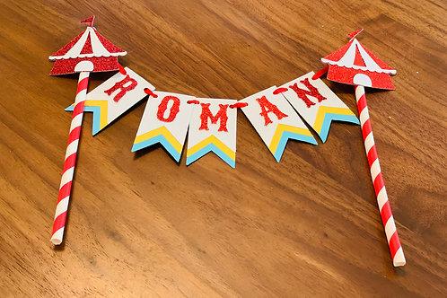 """""""ROMAN"""" CAKE TOPPER"""