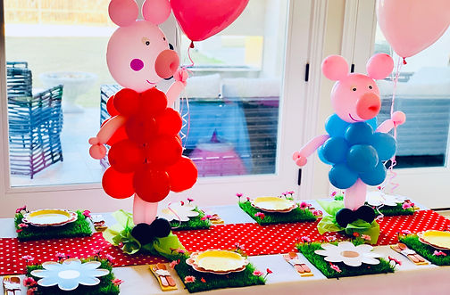 Peppa Pig Birthday in Dallas