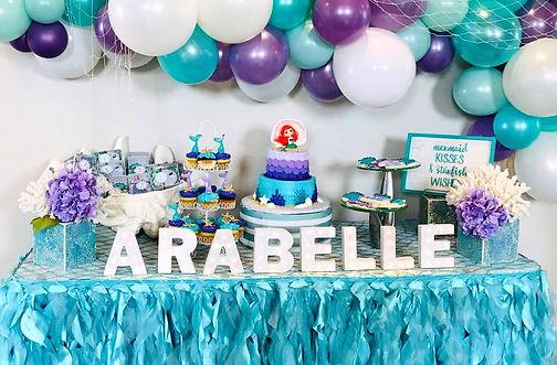 Little Mermaid Birthday in Dallas