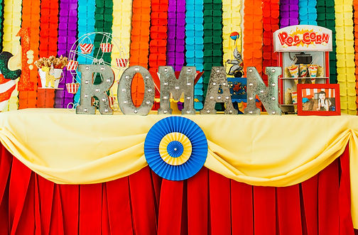Circus Birthday Party in Dallas