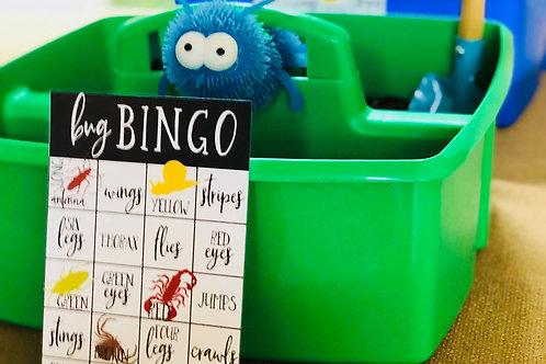 BUG BINGO GAME CARD