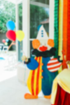 Circus Birthday Decor