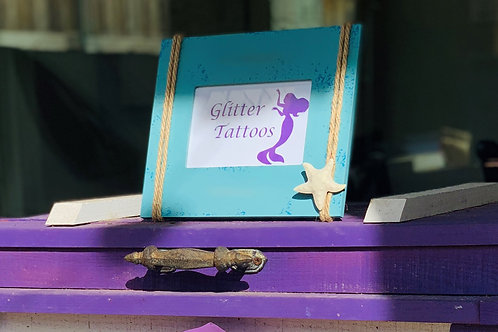 GLITTER TATTOOS SIGN