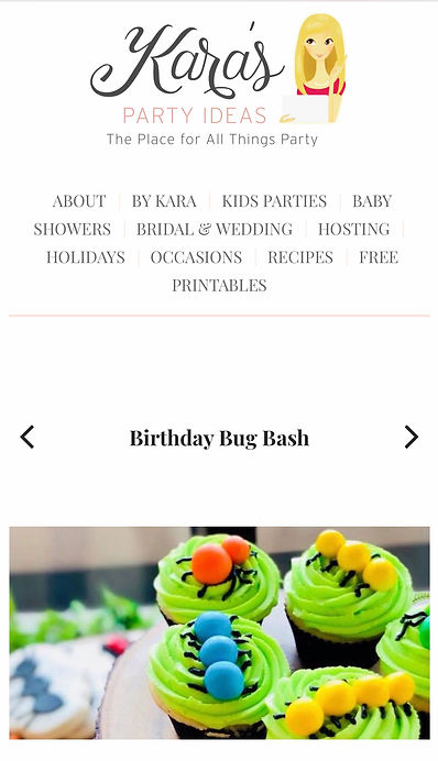 Bug Birthday