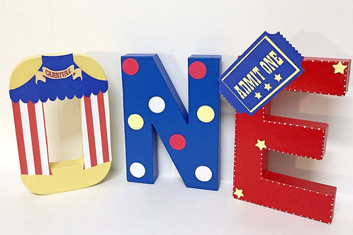 CIRCUS LETTERS