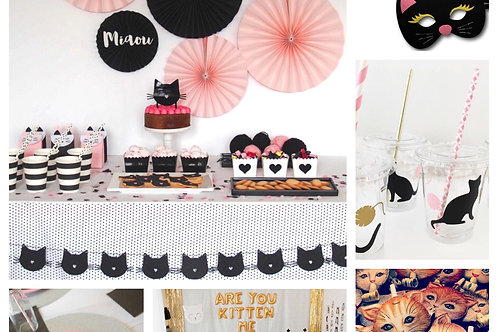 Cat Party Inspiration Board