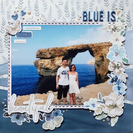 BLUE IS...