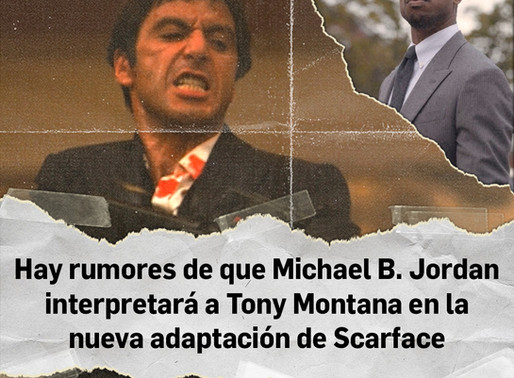 Tony Montana podría ser interpretado por Michael B. Jordan