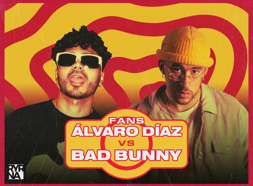 Los fans de Álvaro Díaz explotan contra Bad Bunny