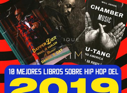 10 libros sobre Hip Hop publicados en 2019