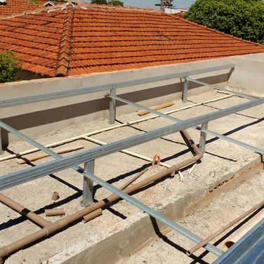Estrutura em Aço Galvanizado Mr. Roof
