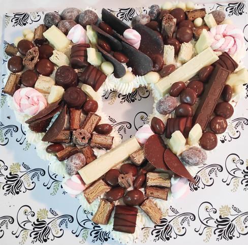 עוגת ממתקים מושחתת