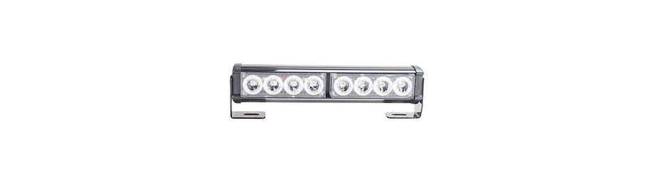 Powerstick-8 LED Amber Light Bar