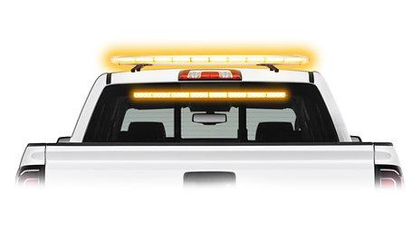 Strobe Light Directional LED Roof Mount Light Bar Package