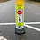"Thumbnail: Pedestrian Crosswalk Sign 36"" with LED Flashing Lights"