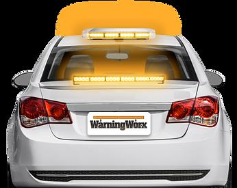 LED  Warning Lights Kit with Mini Light Bar and Directional Bar Amber (Level 2)
