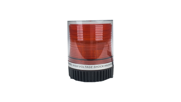 Beacon Mini Round Magnetic Amber