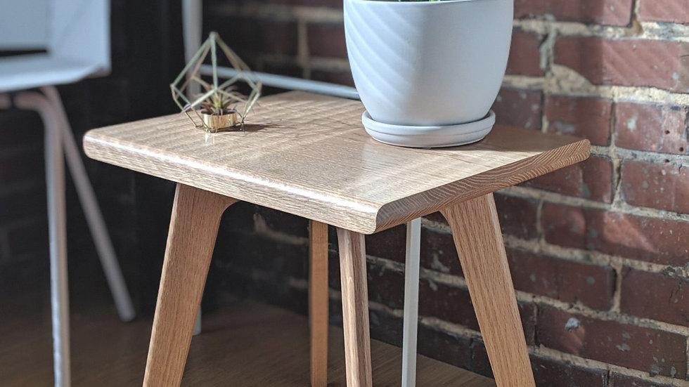 Mid Century Modern plant handmade from oak wood plant stand, modern stool, danish modern, scandinavian
