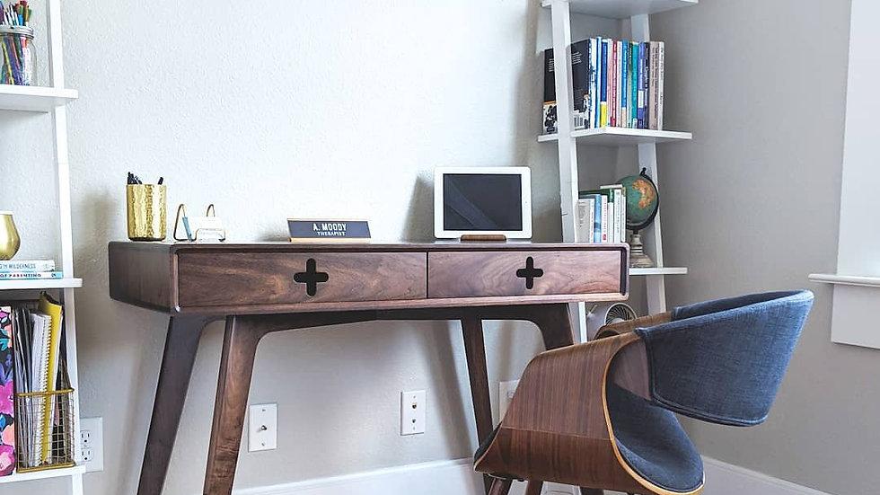 Desk Plus | Walnut Drawer Faces