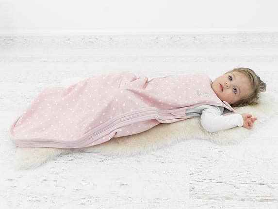 saco de dormir bebé niño de lana merino 4 estaciones woolino