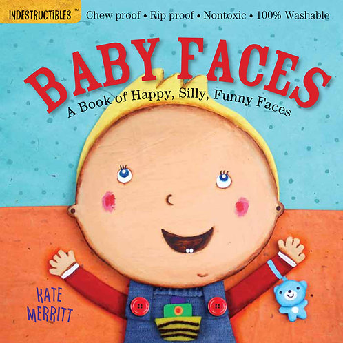 Libro Baby faces - Indestructibles
