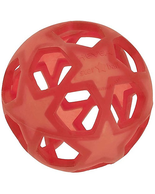 Star ball Raspberry Red - Hevea