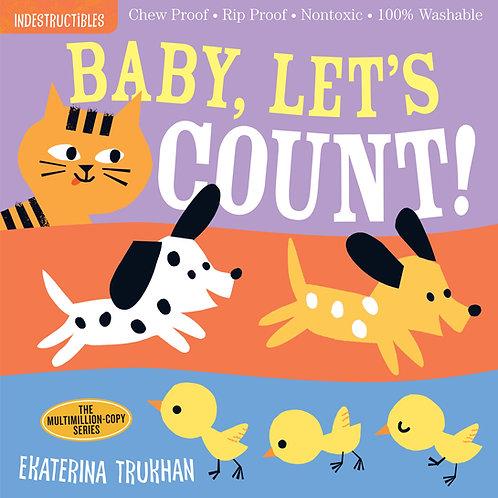 Libro Baby, Let's Count!- Indestructibles