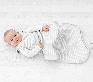 Saco de dormir bebe de lana merino woolino