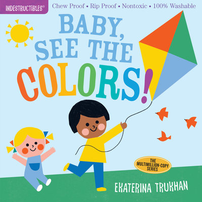 Libro Baby, see the colors!- Indestructibles